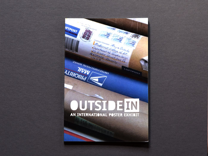Outside In exhibition curation and catalog design