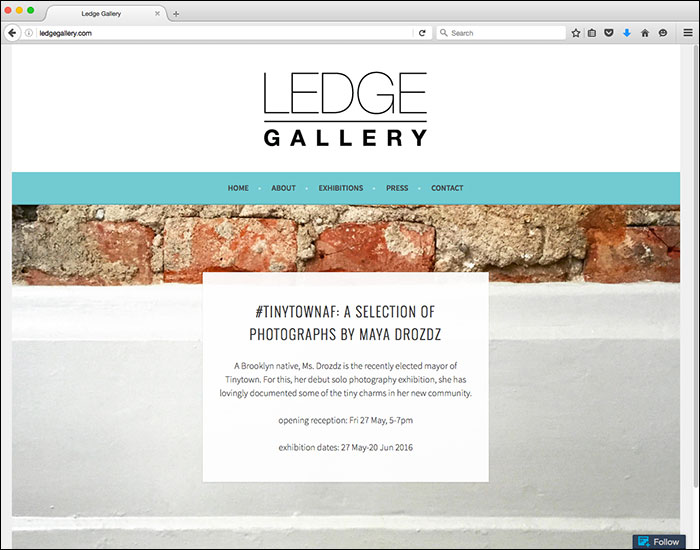 Ledge Gallery site